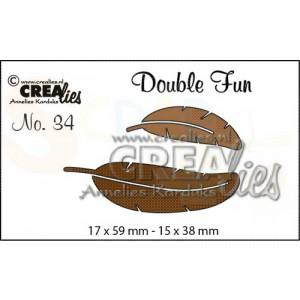 CreaLies, CLDF34 Double Fun no. 34 veertjes