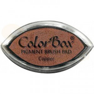 Colorbox cat's eye inkpad, copper