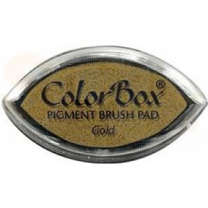 Colorbox cat's eye inkpad, gold