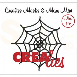 CreaLies, CLMMM116 Masks & More mini no. 116 spinnenweb
