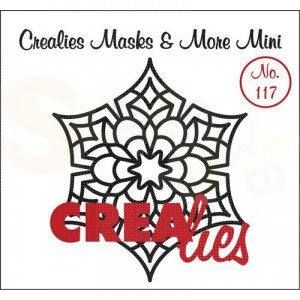 CreaLies, CLMMM117 Masks & More mini no. 117 Mandala D
