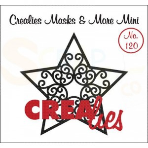 CreaLies, CLMMM120 Masks & More mini no. 120 Ster A