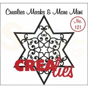 CreaLies, CLMMM121 Masks & More mini no. 1201Ster B