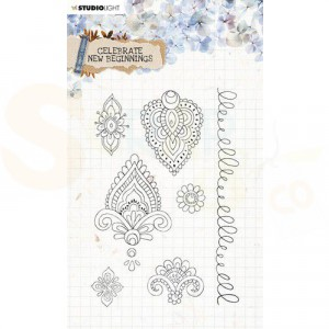 StudioLight, clearstamp Celebrate New Beginnings nr. 516 STAMPCNB516