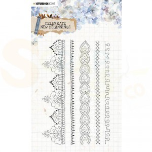 StudioLight, clearstamp Celebrate New Beginnings nr. 517 STAMPCNB517