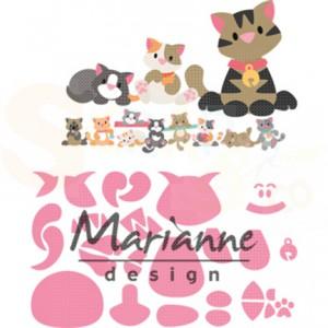 COL1454, stans Marianne Design, Eline's kitten