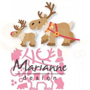 COL1461, collectable Marianne Design, Eline's Rendier