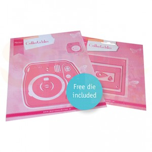 COL1498, collectable Marianne Design, Instant camera