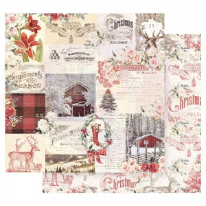 Prima Marketing, Christmas in the Country CITC12 95263, Compliments of the Season