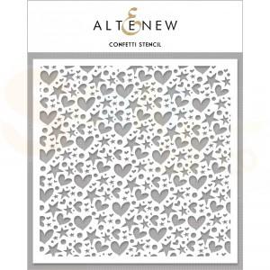 Altenew, Stencil, Confetti ALT4039
