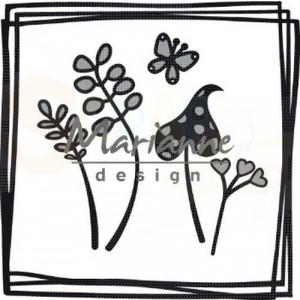 CR1469, craftable Marianne Design, Doodle vierkant
