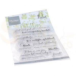 CS1065, clearstamp Marianne Design, Opkikkers by Marleen