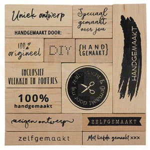 CS1074, houtstempel set Marianne Design, Zelfgemaakt (NL)