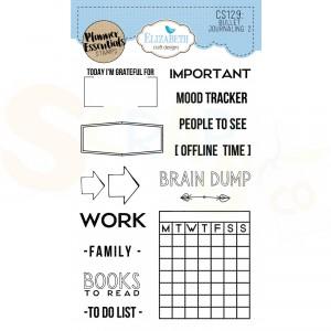Elizabeth Craft Designs, Clearstamp CS129, BulletJournaling 2