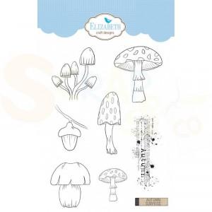 Elizabeth Craft Designs, clearstamp CS151, Autumn Surprise