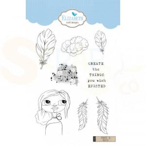 Elizabeth Craft Designs, clearstamp CS152, Make a Wish
