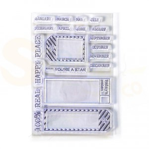 Elizabeth Craft Designs, Sidekick Stamps, CS176