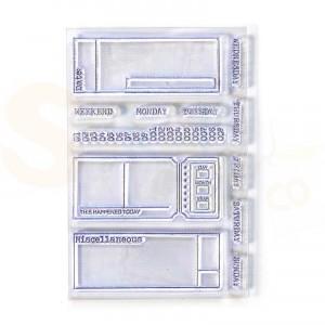 Elizabeth Craft Designs, Sidekick Stamps, CS177