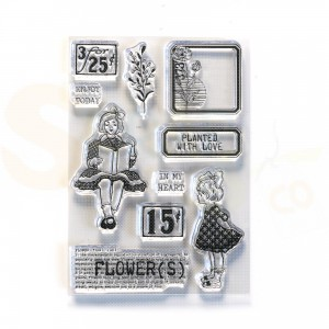 Elizabeth Craft Designs, Sidekick Stamps CS215