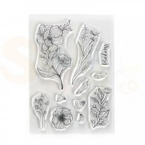 Elizabeth Craft Designs, clearstamp CS225, Kindness