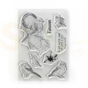 Elizabeth Craft Designs, clearstamp CS226, Forever