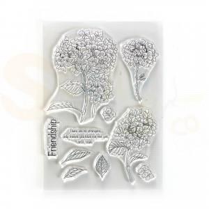Elizabeth Craft Designs, clearstamp CS227, Friendship