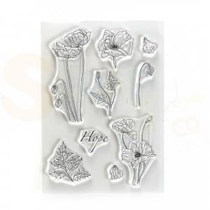 Elizabeth Craft Designs, clearstamp CS228, Hope