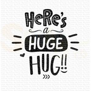 CS-449 My Favorite Things clearstempel, Here is a huge Hug
