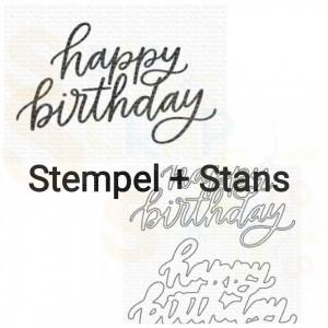 CS-580 + MFT-2048, Bundle My Favorite Things, Happy Birthday