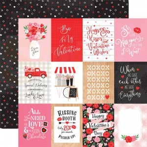 Echo Park Paper, Cupid & Co CUP227003, 3x4 Journaling cards