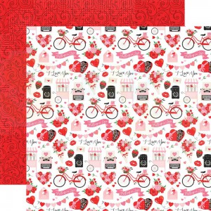 Echo Park Paper, Cupid & Co CUP227005, I love you