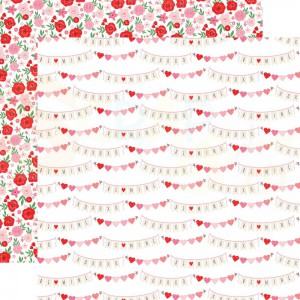 Echo Park Paper, Cupid & Co CUP227008, xoxo banners