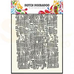 470.715.006 DDBD mask art, burlap