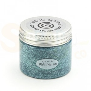 Cosmic shimmer texture paste, Decadent teal, CSPMPASTSPTEAL
