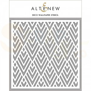 Altenew, Stencil, Deco Wallpaper ALT2191