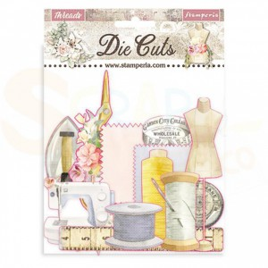 Stamperia die cuts, Threads DFLDC35