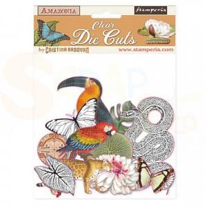 Stamperia Clear die cuts, Amazonia DFLDCP03