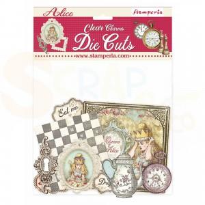 Stamperia Clear die cuts, Alice Charmes DFLDCP18