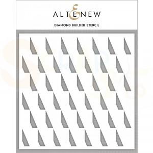 Altenew, Stencil, Diamond Builder ALT3458
