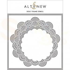 Altenew, Stencil, Doily Frames ALT3457