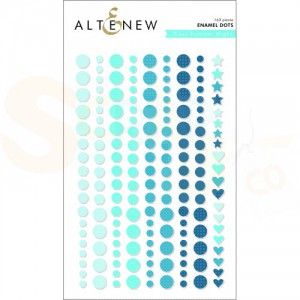 Altenew, enamal dots Cool Summer Night ALT2588