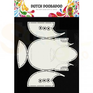 470.713.787 Dutch Doobadoo Card Art, Babyshoes 2 set