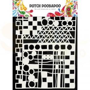 470.715.137 DDBD Dutch Mask Art Geo Mix Abstract A5
