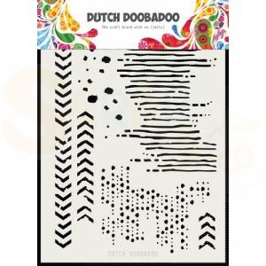 470.715.136 DDBD Dutch Mask Art Grunge mix A5