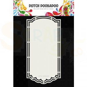 470.713.189 Dutch Doobadoo Shape Art, Scallop Tag