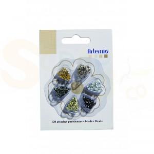 Brads mini, Artemio 11006073, gesorteerd classic