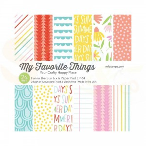 EP-64, My Favorite Things Paper pack 6x6 inch, Fun in the Sun