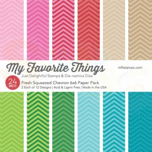 EP-07 MFT Paper pack 6x6 inch, Fresh Squeezed Chevron