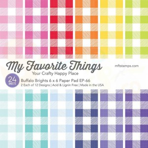 EP-66, My Favorite Things Paper pack 6x6 inch, Buffalo Bright