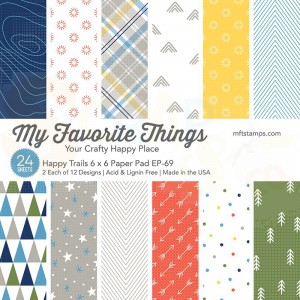 EP-69, My Favorite Things Paper pack 6x6 inch, Happy Trails